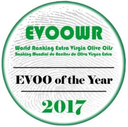 Evoo World Ranking 2017 – No. 1 Picual Variety