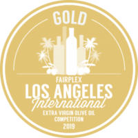 GOLD MEDAL Los Angeles Extra Virgin Olive Oil Competition 2019